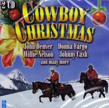 DOPPEL-CD NEU/OVP - Cowboy Christmas - John Denver, Johnny Cash u.a.