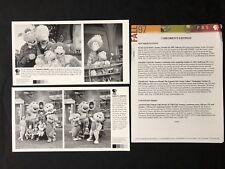 BARNEY & FRIENDS/WIMZIE'S HOUSE—1997 PRESS KIT—2 PHOTOS