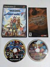 Wild Arms: Alter Code F PS2 Game Complete w/ Case, Bonus Disc & Manual RARE!