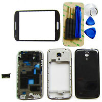Full Housing Back Cover+ Outer Glass Lens For Samsung Galaxy S4 Mini i9190 New