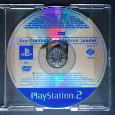 promo ACE COMBAT SQUADRON LEADER PlayStation 2 UK PAL・♔・pre-release full game PS
