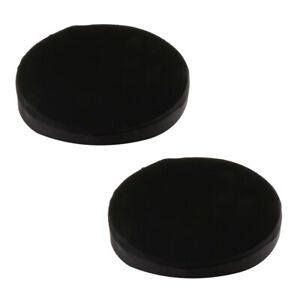 Elastic Bar Stool Covers Round Chair Seat Protector Cover Pad, Set of 2