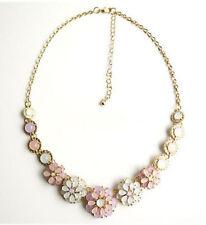 Acrylic Alloy Statement Round Costume Necklaces & Pendants
