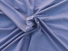 Periwinkle Stretchy French Terry Knit Fabric by Yard 4 Way Stretch 10/21/16