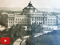 Washington D.C. c.1900 old print lot x 10 U.S. gov buildings Capitol PO Library