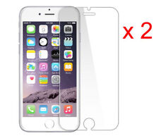2 X 100% GENUINE NEW TEMPERED GLASS FILM SCREEN PROTECTOR FOR APPLE IPHONE 6S