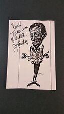 Joey Bishop-signed photo - 3 - coa