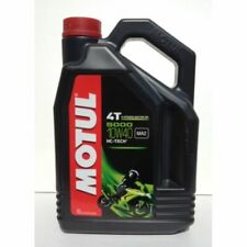 Motul 5000 10w 40 (Semi Synthetic) 4Ltr Motorcycle Oil.