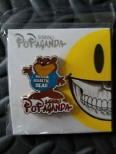 Ron English Popaganda Cereal Killers Enamel Pin New Urban Art NYC SUGAR BEAR!