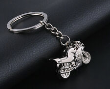 2017  Cute Motorcycle Key Ring Chain Motor Silver Keychain Lover Key Chain