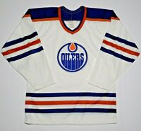 Vintage Edmonton Oilers CCM Maska NHL Hockey Jersey Men's Medium