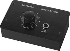 Monacor Passiver Stereo-Pegelregler XLR 6,3mm Klinke PA Hifi ILA-100XLR
