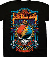 Vintage Grateful Dead Steal Your Trippy Black T-shirt Unisex All Size M591