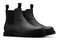 Sorel Men's Madson Chelsea Waterproof Black Boot Size 8 M N1075