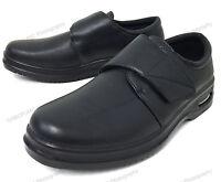 Men's Comfort Shoes Slip Resistant Straps Air Cushion Walking Restaurant Work