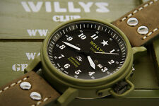 Jeep Willys Club watches Switzerland limited edition American version USA