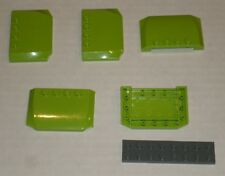 LEGO NEW 4x6x2/3 Lime Plate (5x) 4500755 6146890 Brick 52031