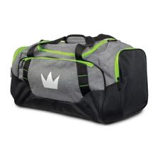 Brunswick Deluxe Bowling Duffel Bag Color Grey/Lime  NOT  A BALL BAG