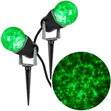 Gemmy LightShow Green Projection Kaleidoscope Combo (2 Pack)