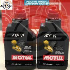 2 Litri MOTUL ATF VI Olio Fluido Trasmissione Cambio Automatico 100% Sintetico