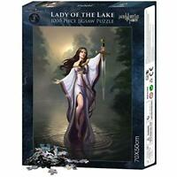 Jigsaw Puzzle LADY OF THE LAKE - Gothic Magic Mystic Design - 1000 Piece