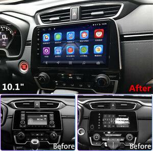 For CR-V 2017-2020 CRV 10.1'' Android 9.1 Car Stereo Radio GPS Navigation 2+32GB