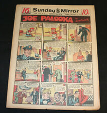 1950 Sunday Mirror Weekly Comic Section September 24th (Fine) Superman Mr. M