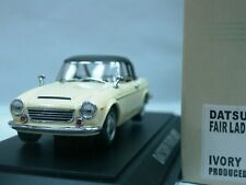 WOW EXTREMELY RARE Datsun Fairlady SP1600 RHD S.Top 1965 Ivory 1:43 Ebbro-DISM