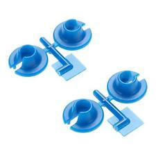 RPM 73155 Lower Spring Cups Blue: Traxxas 1/10 Slash 4x4
