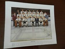 """1976-77 New West Bruins Photo 11x9"""" WCHL Classic Ernie 'Punch' McLean SMYL Beck"""