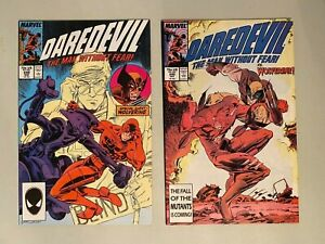 Daredevil 248 and 249 Battle Against Wolverine Set Beautiful Books!