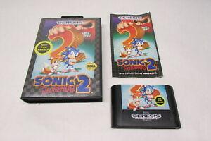 Sonic the Hedgehog 2 (Sega Genesis, 1992) Not for Resale Version CIB