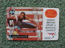 United Kingdom Sports Collectable Phone Cards