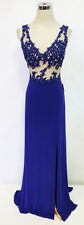 BLONDIE NITES Royal Prom Formal Party Gown 9 -$190 NWT
