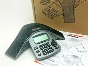 New Polycom IP5000 Desk Conference Phone SoundStation - Black Full Duplex IP