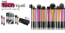 + sets Real Techniques Makeup Brushes Core Collection Eyes Travel Kit Duo-Fiber