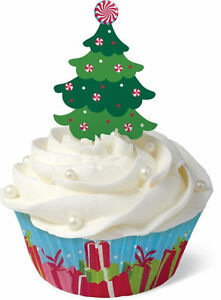 Christmas Tree Cupcake Decorating Kit from Wilton 0343 NEW