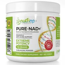 PureNAD+ Nicotinamide Adenine Dinucleotide Extreme Potency sublingual Powder 16G