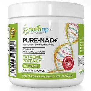 PureNAD+ Nicotinamide Adenine Dinucleotide Extreme Potency sublingual Powder 16G