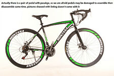 MONTANA Mountain Bike 21Speed 26 Inch/700CC SHIMANO TX30 Double Disc Brake Gree^