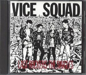 VICE SQUAD / LAST ROCKERS - THE SINGLES * NEW CD 1991 * NEU *