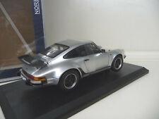 1:18 NOREV PORSCHE 911 Turbo 3.3 silber NEU NEW