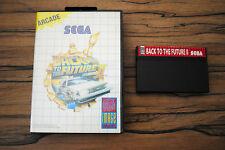 Jeu BACK TO THE FUTUR II 2 pour Sega MASTER SYSTEM (pas de notice)