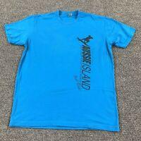 Adult Large Aussie Island Surf Shop T Shirt Wrightsville Beach NC Surfing Logo