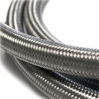 """UNIVERSAL braided line KIT AN.10 X 42""""  FOR TURBO /OIL COOLER TRANSMISSION"""