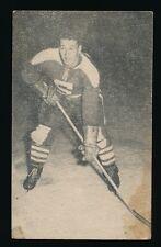 1952-53 St Lawrence Sales (QSHL) #102 BOB LEGER (Shawinigan)