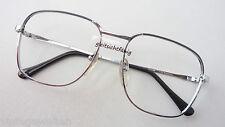 Herren Brillen Vintage Oldschoolfassung Metallgestell 70er Kassenbrille Grösse M