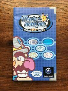 Wario Ware Inc Nintendo Gamecube Instruction Manual Only