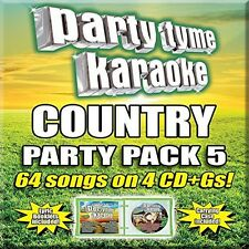 Various Artists, Par - Party Tyme Karaoke: Country Party Pack 5 [New CD]