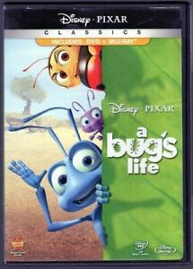 A Bug's Life (1997, DVD/Blu-Ray, 2-Disc Set)